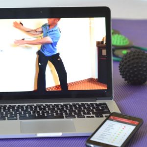 workout online with a personal trainer